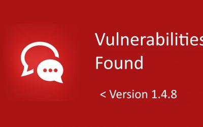Vulnerabilities Found in Facebook Messenger Chat WordPress Plugin