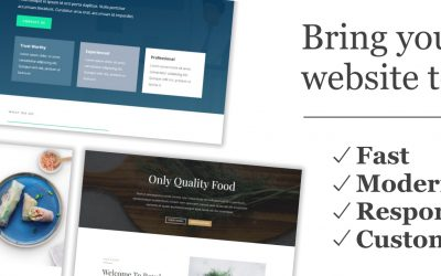 Save Time & Costs with a Template-Based Website Design